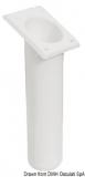 Angelrutenhalter aus UV-beständigem Polypropylen quadratisch 240mm weiß