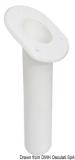 Angelrutenhalter aus UV-beständigem Polypropylen oval 240mm weiß