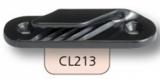Clamcleat Tauklemmen - Klemmen für 2 - 5mm Tauwerk - offene Klemmen CL213