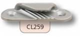 Clamcleat Tauklemmen - Klemmen für 3-6mm Tauwerk - offene Klemmen CL259