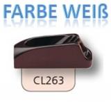 Clamcleat Tauklemmen - Klemmen für 1-4mm Tauwerk - mit Leitöse CL263W
