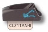 Clamcleat Tauklemmen - Klemmen für 3 - 6mm Tauwerk - mit Leitöse CL211AN-II
