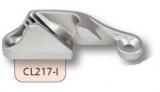 Clamcleat Tauklemme silber - für 3 - 6mm Tauwerk - mit seitlichem Einzug CL217-I