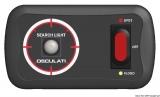Joystick-Schaltplatte 12-24V 13.227.39 für 1 Geschwindigkeiten und 2 Spots