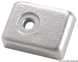 Pinnen-Plattenanode für 40/50 PS Viertakter. Aluminium