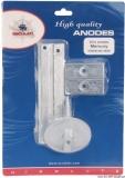 Anoden-Set MERCURY Set 4 Stk 75/80/90/100/115 EFI Aluminium