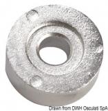 Rundanode für 25/60 PS 24x14 mm Aluminium