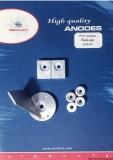 Anoden Set Suzuki Motor-Typ 40 bis 50 PS Aluminium