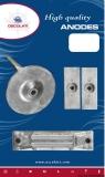 Anoden-Set für Honda Außenborder 40/50 PS Magnesium