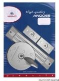 Anoden-Set für Honda Außenborder 75/225 PS Aluminium