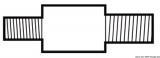 Zinkanode mit Gewinde für Kühlsysteme Länge 14,5x36 mm
