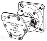 Ersatz Kühlwasserpumpe  F4B Nanni 970307808 Impeller Satz: 66-09-810B-1