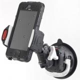 Rokk Mini Smartphonehalter mit Anschraubfuß der Smartphonehalter