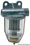 Treibstofffilter mit transparentem Schauglas  Durchfluß 250 l/h max