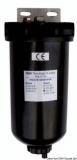 Klärender Vorfilter mit Filterelement aus Edelstahlnetz - 120 Micron  Max. Durchfluß 460 l/h bei Vollgas