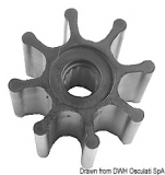 JOHNSON  Flügelrad Impeller Original-Art. Nr. 09-1028-B-9