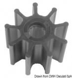 JOHNSON  Flügelrad Impeller Original-Art. Nr. 09-0802B