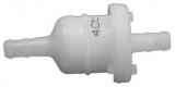Mercury Filter 35-16248 Inline-Kraftstofffilter unter Motorhaube an Außenbordmotoren.