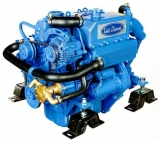 Dieselmotor Sole Mini 33 mit 3 Zylindern 32 PS mit hydraulischem Getriebe TM345, R=2.00:1