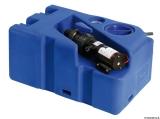 Schmutzwassertank mit integriertem Zerhacke horizontal 50 Liter 12V