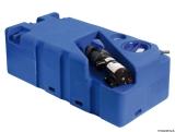 Schmutzwassertank mit integriertem Zerhacke horizontal 70 Liter 12V