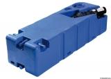 Schmutzwassertank mit integriertem Zerhacke horizontal 90 Liter 24V