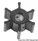 YANMAR Flügelrad Impeller Original-Art. Nr. 104211-42070 104211-42071