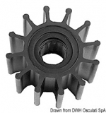 YANMAR Flügelrad Impeller Original-Art. Nr. 129470-42530 129470-42532 129670-42531 127610-42270