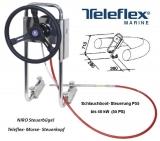 Steuerstand komplett mit Steuerung 18 Fuß Teleflex