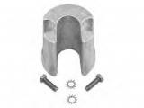 TRIM ZYLINDER ANODE Aluminium