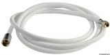 Ersatzschlauch aus weißem Nylon  Länge 2,5m
