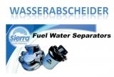 Sierra Benzinfilter mit Wasserseparator  Nicht für Diesel Kraftstoff.