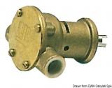 Impeller Pumpe NAUCO Modell ST114, mit Flansch, wird direkt am Motor montiert