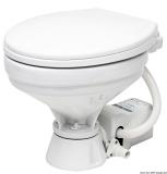 Elektrische Bordtoilette Modell groß Toilettenbrille Kunststoff weiß lackiert