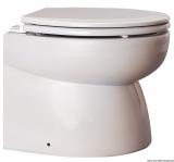 Elektrisches Einbau-WC aus weißem Porzellan Niedrig 24V