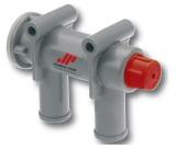 Kühlwasserkreisbelüfter Johnson Pump mit Vakuumventil 12mm