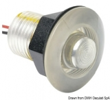 LED-Einbau-Orientierungsleuchte LED blau