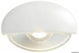 BATSYSTEM LED-Einbau-Orientierungsleuchte Steeplight  Farbe Gehäuse weiß Farbe Licht weiß