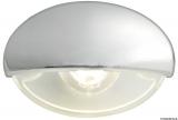 BATSYSTEM LED-Einbau-Orientierungsleuchte Steeplight  Farbe Gehäuse verchromt Farbe Licht weiß