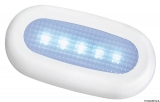 LED-Orientierungsleuchte, ohne Einbau.  Farbe LED blau