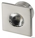 LED-Deckenleuchten, Unterputz  Farbe LED weiß viereckig 1W