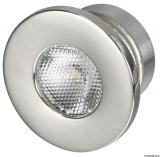 LED-Deckenleuchten, Unterputz  Farbe LED weiß rund 1W