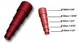 Schlauchverlauf aus Kunststoff für Schläuche von 32-60mm