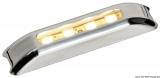 LED-Orientierungsleuchte, ohne Einbau weißes Lichtkegel vorn