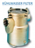 Wasserfilter Kühlwasserfilter Filter 1 1/4 Zoll bis 8.800 Liter pro Std, Höhe 176mm