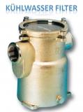 Wasserfilter Kühlwasserfilter Filter 1 1/2 Zoll bis 12.800 Liter pro Std, Höhe 193mm
