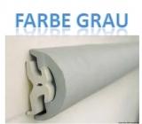 RADIAL Einlegeteil aus PVC in grau für 40mm