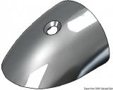 RADIAL Stoßkanten Profil Endstück aus rostfreien Edelstahl  für 40mm Profil