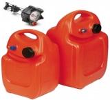 Kraftstofftank Größe:3 aus Polyethylen 25 Liter mit Anzeige im Deckel