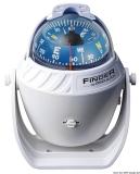 Finder Aufbaukompass weiß Version mit Bügel Kompassrose 67mm